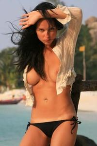 Model Jenya D in Tropics
