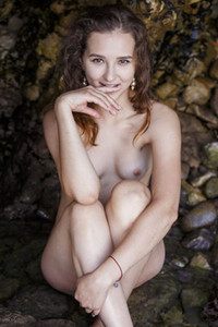 Model Ava in Grotto