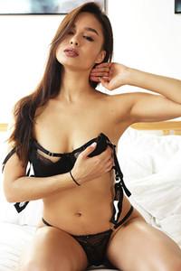 Model Astrid Herrara in Feeling Racy